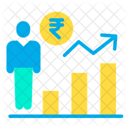 Rupees Investor Icon