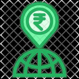 Rupees Location Icon