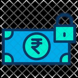 Rupees Lock Icon