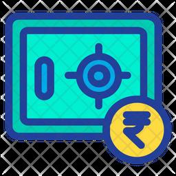 Rupees Locker Icon