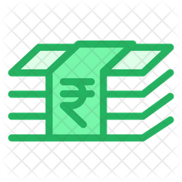 Rupees Notes Icon