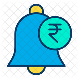 Rupees notification Icon