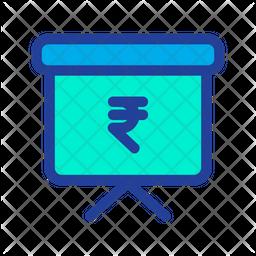 Rupees Presentation Icon