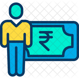 Rupees Salary Icon