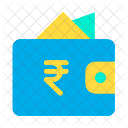 Rupees Wallet Icon