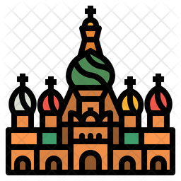 Russia Moscow Icon