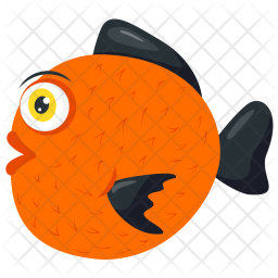 Ryukin Goldfish Icon