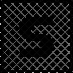 S alphabet Icon