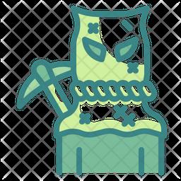 Sack Man Dualtone Icon