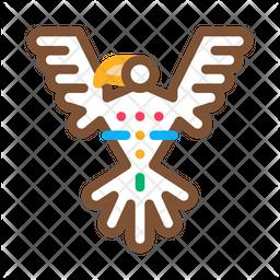 Sacred Totem Bird Icon