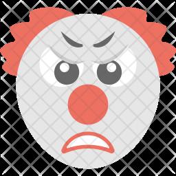 Sad Clown Icon