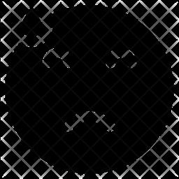 Sad Face Emoji Icon