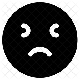 Sad Face Emoji Icon