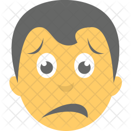 Sad Face Icon