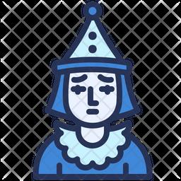 Sad Pierrot Icon