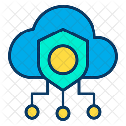 Safe cloud Icon