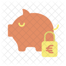 Safe Euro Savings Icon