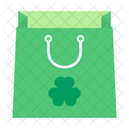 Saint Patrick shopping Icon