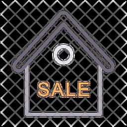 Sale Line Icon
