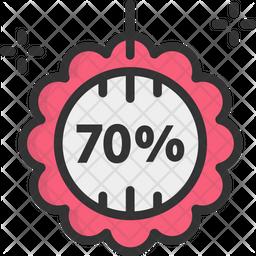 Sale Colored Outline Icon