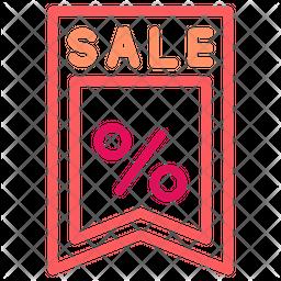 Sale Dualtone Icon