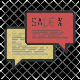 Sale Message Icon