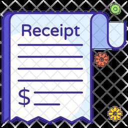 Sale Receipt Icon