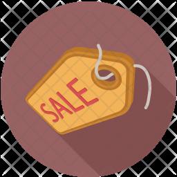Sale tag Flat Icon