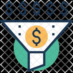 Sales Funnel Icon