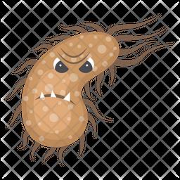Salmonella Bacteria Icon