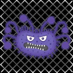 Salmonella Character Icon