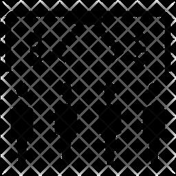 Sampling Variation Icon