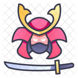 Samurai Icon Of Colored Outline Style Available In Svg Png Eps Ai Icon Fonts
