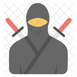 Samurai Icon Of Flat Style Available In Svg Png Eps Ai Icon Fonts