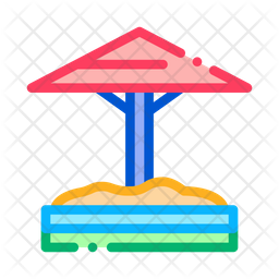 Sandbox Umbrella Icon