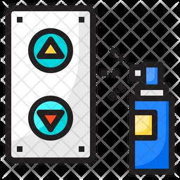 Sanitizer Spray Icon