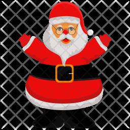 Santa Flat Icon