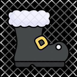 Santa Claus Boot Icon