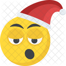 Santa Claus Emoticon Icon