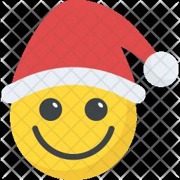 Santa Claus Emoticon Icon