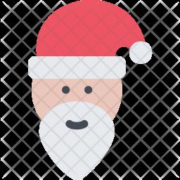 Santa, Claus, New, Year, Christmas, Winter, Holidays Icon png