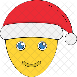 Santa Face Icon