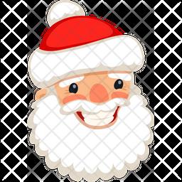 Santa Happy Icon