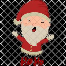Santa Ho Ho Icon