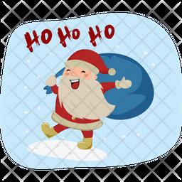 Santa Ho Ho Ho Icon