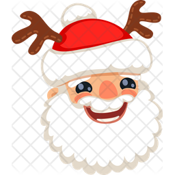Santa Horns Icon