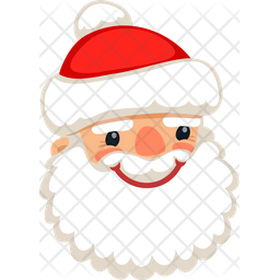 Santa Smile Icon