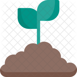 Sapling Flat Icon