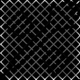 Satellite Line Icon