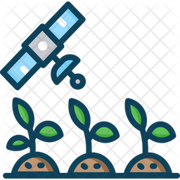 Satellite Monitoring Icon